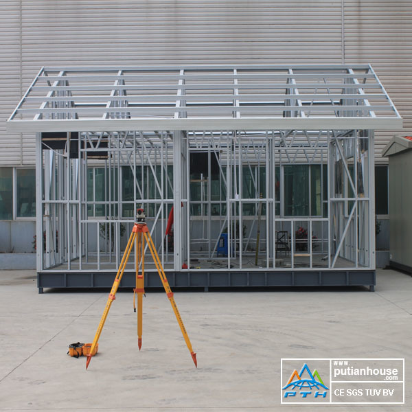 G550 Light Steel Structure Cheap Prefabricated Home