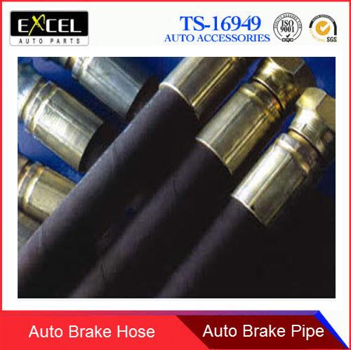 2 X Front Brake Hose fits Toyota RAV4 I 90947-02782