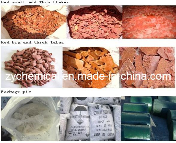 Sodium Sulfide 60%, Na2S, Use: Dyeing Industry, Inhibiter