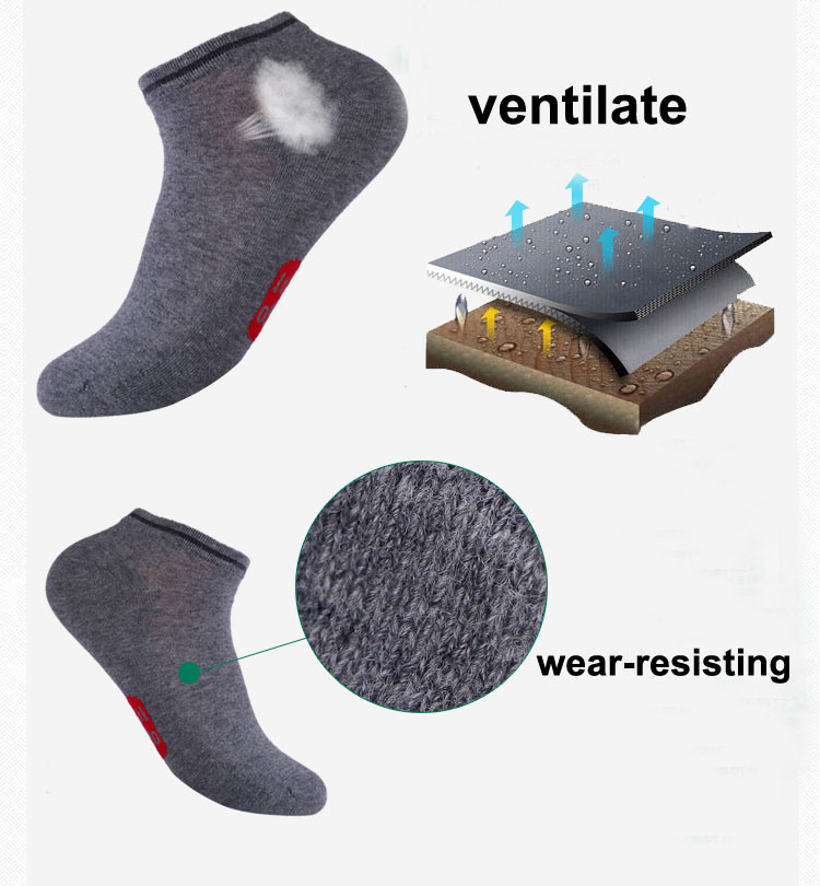 OEM New Deign Men Stink Prevention Sock
