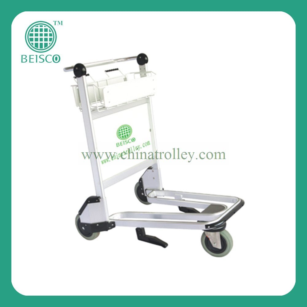 Hot-Selling Durable Airport Luggage Trolley with CE Certificates (JS-TAT01)