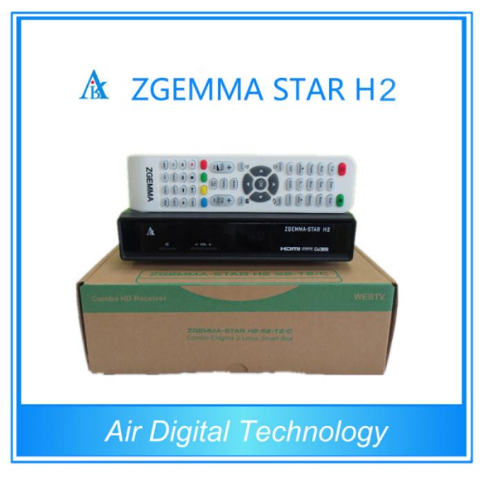 Zgemma-Star H2 DVB-S2 DVB-T2 Full HD Download Software for Receiver