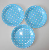 New Products Party Decoration Item Paper Plate with Color Printed
