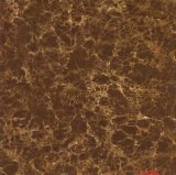3D Inkject Brown Glass Glossy Porcelain Floor Tile
