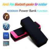 Hot Sale Wireless Portable Bluetooth Speaker Portable with 4000 mAh Power Bank Charger