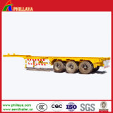 3 Axles 20ft 40ft Skeleton Container Semi Trailer