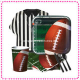 Rugby Football Party Glow Tableware Pw-1