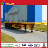 3 Axles Container Platform Semi Trailer (PLY9825CY)