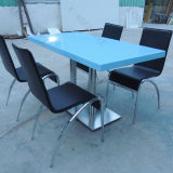 Solid Surface Tables Stylish Blue Table Top for Dining Room