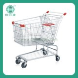 Supermarket Metal Shopping Cart with Good Quality (JS-TAM)