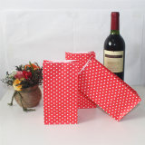 Eco-Friendly Striped Red Yellow Black Paper Bags for Party