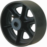 Customized Trolley Wheel with Iron