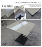 Small Solid Surface Square Tea Table for Home Furniture