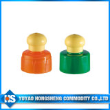 Round Top Push Pull Cap