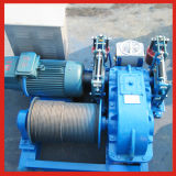 Jk Fast Lifting Speed Winch with Double Braking Safety Device