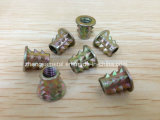 Zinc Alloy Blind Nut in Zinc Coloring Plated