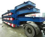 Cimc 3 Axles 80ton Low Bed Trailer