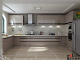 2015 Modern Customized Lacquer Kitchen Cabinets