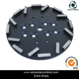 10 Inch Concrete Floor Grinding Plate for Radial Arm Machine