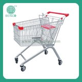 Hot Sale Grocery Shopping Cart with Reasonable Price (JS-TEU)