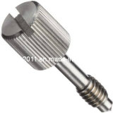 Customized Slotted Knurled Head Stainless Steel Electrical Captive Panel Screw Bolt