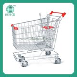 Various Volume Supermarket Shopping Cart by CE Certificated