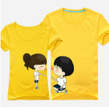 Newest Fashion Couple T Shirt Printing