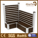 Foshan WPC Aluminium Wooden Fence Panel/ Flower Pot -- Can Sit on The Boxes