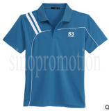 Wholesale High Quality 100% Cotton Plain Sport Polo T-Shirt