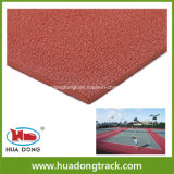 Fast Supplier 6mm Sports Tennis Court Rubber Flooring Material