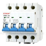 High Quality Knb1-63-2007 (DZ47-63) Mini Circuit Breaker