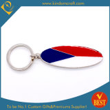 High Quality Nickle Finished Metal Key Chain