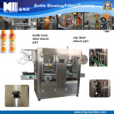 Automatic Bottle Body and Bottle Lid Labeling Machinery