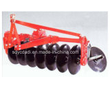Rotary Driven Disc Plough