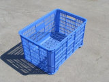 Stackable Plastic Fruit Crate Made of Virgin PE