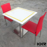 Hotel Furniture Artificial Marble Stone Dining Table