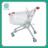 Nickel Plated Shopping Trolley Cart (JS-TNT21)