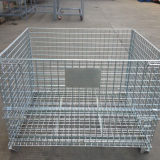 Hot Sale Galvanized Wire Mesh Container for Warehouse Turnover