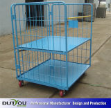 Foldable Roll Container Steel Market Stand Trolley (BR-RCONTAINER)