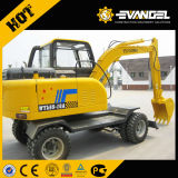 Small 7 Ton WYL70 Wheel Excavator with Xinchai Engine