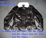 Pig Leather Stock Garments (17413)