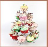 Metal Wedding Cake Stand, 4 Tier Cupcake Stand