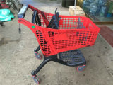 Smart Plastic Supermarket Shopping Hand Trolley (JT-EP04)