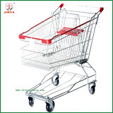 125L Asian Style Shopping Mall Safe Shopping Trolley (JT-E07)