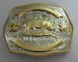 12 Animal 3D Zinc Alloy Belt Buckle with 2-Tone Plating (PM-002)