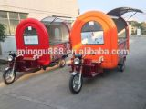 BBQ Grill Cart Mobile Food Trucks Fast Food Truck China Mobile Food Cart with Tricycle