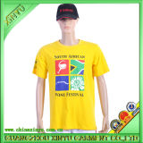 100%Cotton Plastic Printing Custom T Shirts