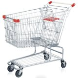 Metal Supermarket Shopping Cart