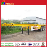 3 Axles 20ft-52ft Skeleton Container Semi Trailer