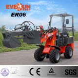 Er06 Mini Wheel Loader with Quick Hitch/Excavator for Sale